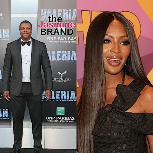 Naomi Campbell & Chris Tucker Accused Of Being In Jeffrey Epstein's 'Little Black Book', Trend On Twitter
