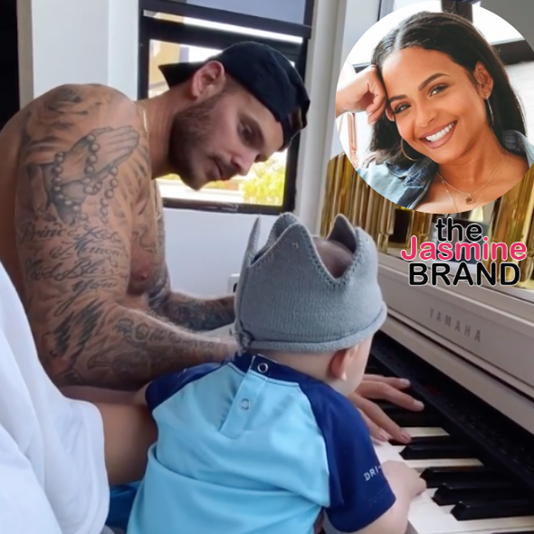 Aww! Christina Milian Shares Cute Video of Her Boyfriend Matt Pokora Playing The Piano With Their Son Isaiah [WATCH]