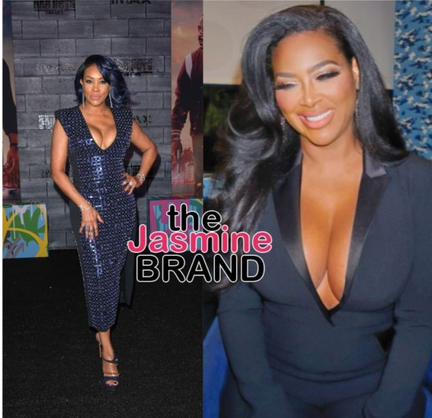 Kenya Moore Calls Herself A' Queen' After Vivica Fox Reignited Their Feud & Said 'F*ck That B*tch!'