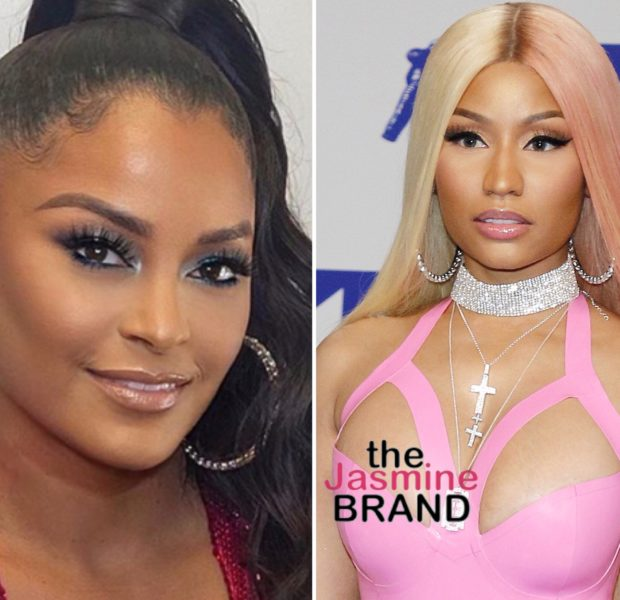 Claudia Jordan Claims Nicki Minaj Fans Threatened Her 69 Year-Old Mother, Harassed Her Niece