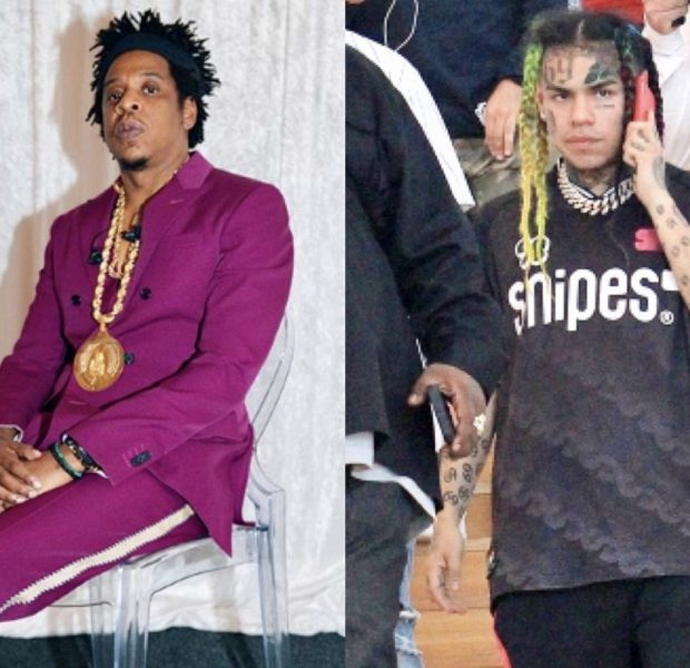 Tekashi 6ix9ine – Source Close To Rapper Confirms He Has NOT Signed To Roc Nation Management