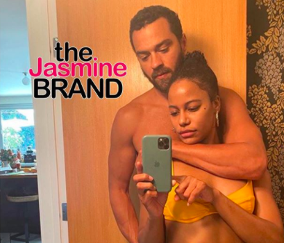 Jesse Williams – Shirtless Actor Grabs Girlfriend Taylour Paige As She Poses In A Bikini 'Right After We Bickered Over Some Dumb Sh*t'