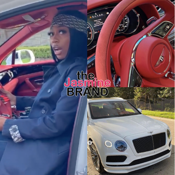 Kash Doll's Mystery Bae Gifts Her w/ Limited-Edition Bentley [WATCH]