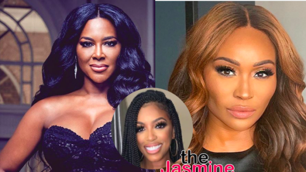 Porsha Williams Accuses Kenya Moore Of Bashing Cynthia Bailey In Secret Text Messages: Fake Friend!