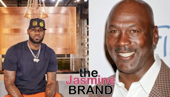 LeBron James Reveals He Cried As A Child Watching Michael Jordan Retire In 1993