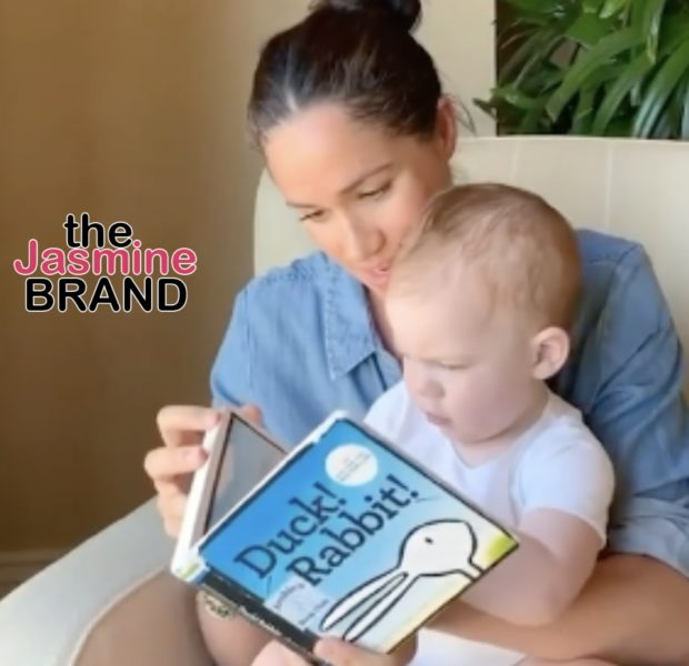 Meghan Markle Reads A Book To Her Son Archie In Honor Of His 1st Birthday