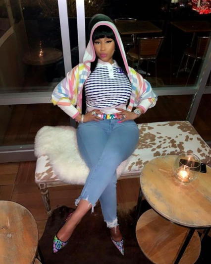 Nicki Minaj Jokes About Having Pregnancy Symptoms: Nausea & Peeing Nonstop! What Do You Think This Means?