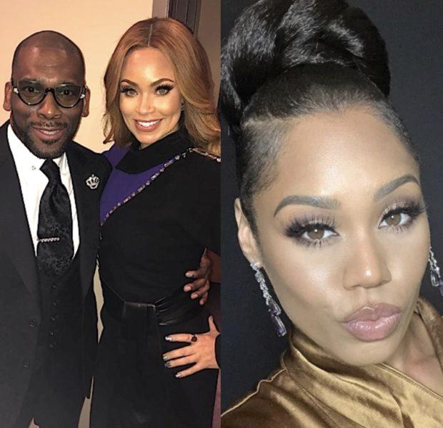 'RHOP' Monique Samuels Alludes To Gizelle Bryant Having A Fake Relationship W/ Pastor Jamal Bryant