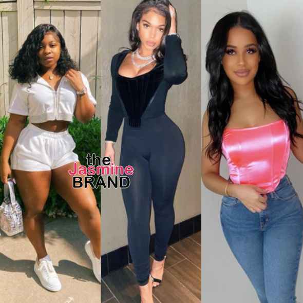 Reginae Carter Addresses 'Not Fitting In' w/ Lori Harvey & Taina Williams: We Have No Problems, They're All My Friends!