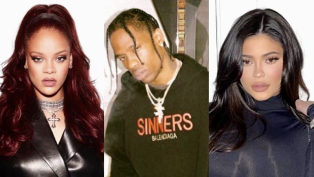 Travis Scott Allegedly Dated Rihanna Before Kylie Jenner, Singer Reportedly Didn't Want Anyone To Know She Was 'Smashing' Him