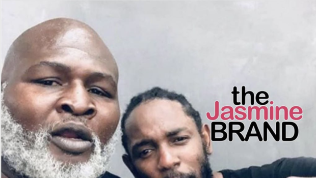 Kendrick Lamar Spotted In A Rare Photo w/ Ex Boxer James 'Lights Out' Toney