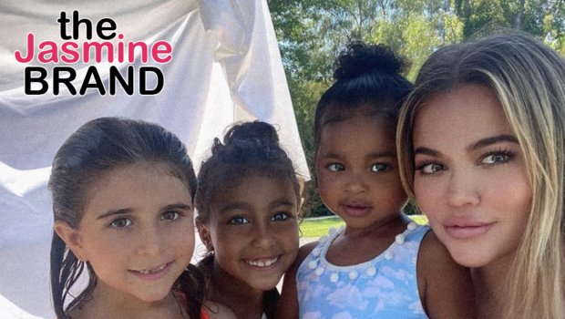 Khloe Kardashian Shares A Sweet Photo With Her Daughter & Nieces