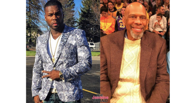 50 Cent Claims Kareem Abdul-Jabbar Snubbed Him The First Time They Met: He Looked At Me Like I Was Crazy