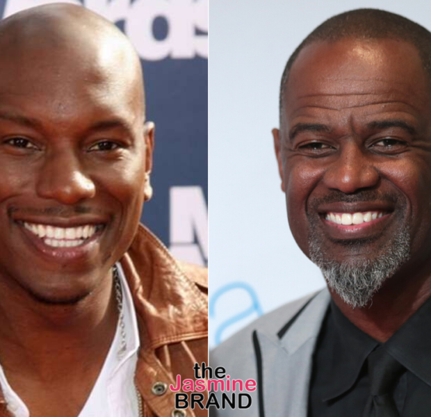 Tyrese's Wife, Samantha Gibson, Surprises Him w/ A Brian McKnight Performance For Date Night [WATCH]