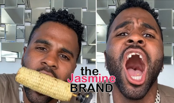 Jason Derulo Pretends To Chip His Tooth In New TikTok Video [WATCH]