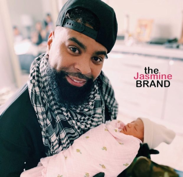 Ginuwine Is A New Grandpa To A Baby Girl
