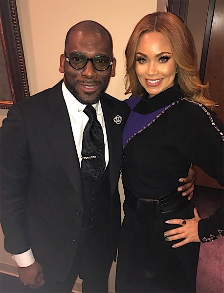 Real Housewives of Potomac's Gizelle Bryant Denies Jamal Bryant Fathered Child With Member Of His Congregation
