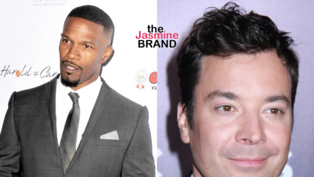 Jamie Foxx Defends Jimmy Fallon: It Wasn't Black Face, This One Is A Stretch