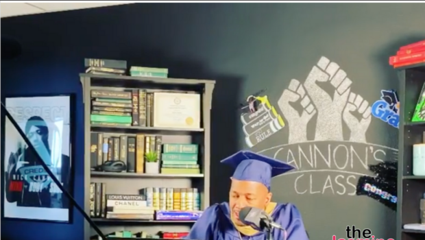 Nick Cannon Graduated From Howard University & Spoke At The Virtual Ceremony