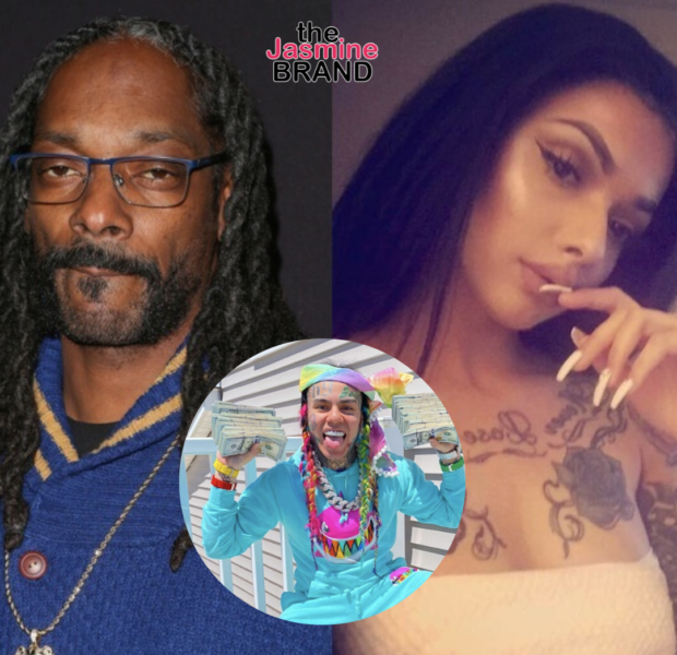 Tekashi 6ix9ine & Celina Powell Both Post Videos Trying To Prove Snoop Dogg Allegedly Cheated On His Wife [Watch]