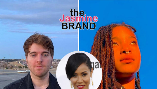Jada Pinkett-Smith & Jaden React To Disturbing Video Of YouTuber Shane Dawson Pretending To Touch Himself While Looking At Poster Of Willow Smith When She Was 11