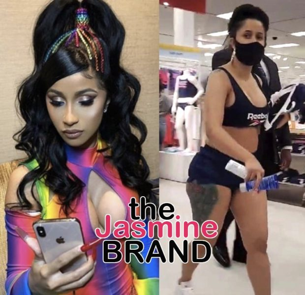 Cardi B Denies Photoshopping Her Body: I Know I Gained A Little Weight! I Got Lipo Money!