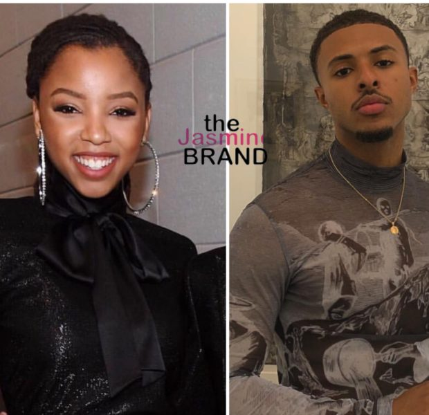 Chloe Bailey Side Steps Question When Asked If It Is Hard Working With Rumored Ex Diggy Simmons