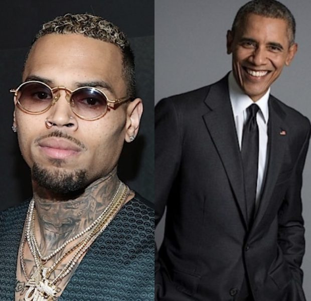 Chris Brown DMs Barack Obama: Let's Set Up A March! We Have To Start A Compassionate Revolution!
