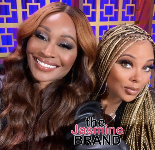 Cynthia Bailey Posts Sweet Message To Eva Marcille After She Announces She's Not Returning To Real Housewives of Atlanta