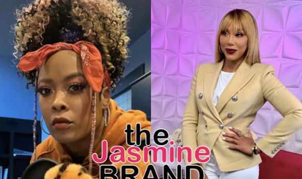 Da Brat Confirms Tamar Braxton Was Allegedly Beaten Up For Sleeping W/ Jermaine Dupri's Father: I Was In The Elevator!