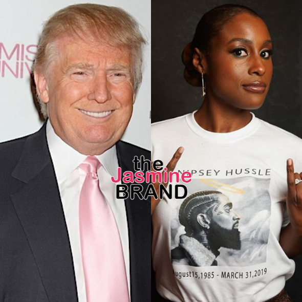 Donald Trump Spotted Liking A Tweet That Suggests He Watches 'Insecure,' Issa Rae Responds: What The F*ck Is This?