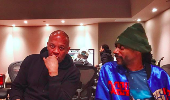 Dr. Dre & Snoop Dogg Are Back In The Studio Together!
