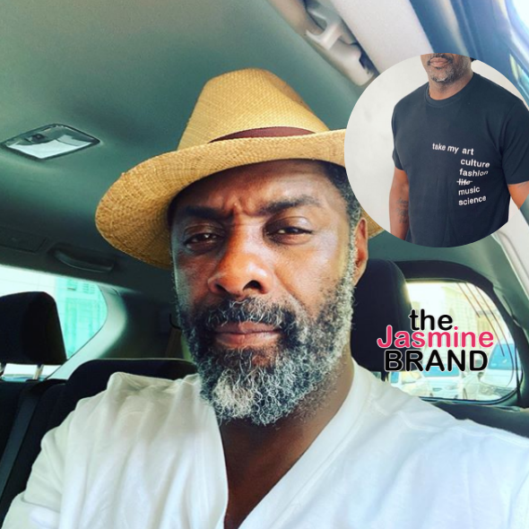 Idris Elba's Juneteenth Shirt Sparks Controversy, He Deletes It & Responds: When Your Own People Weren't W/ It