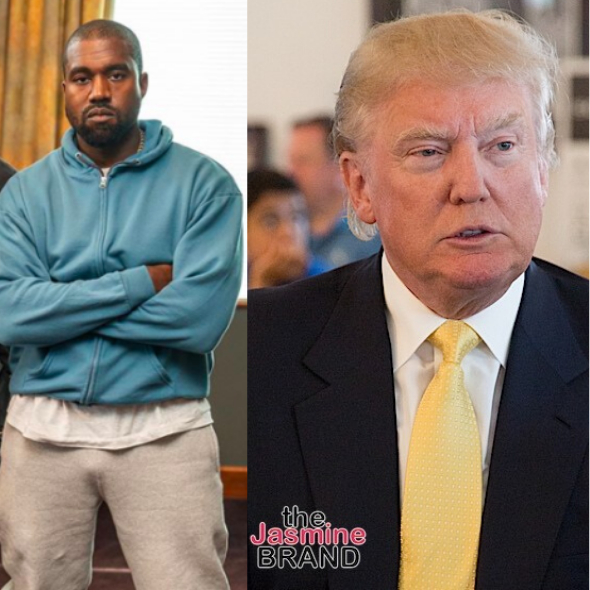 Donald Trump Reacts To Kanye West's Plans To Run For President