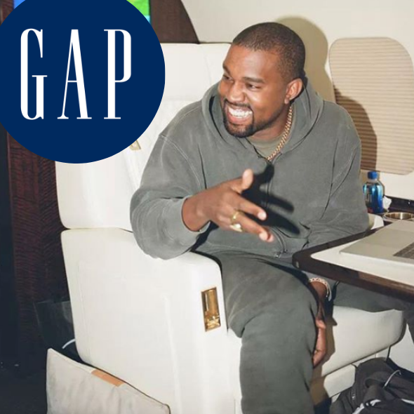 Kanye West Announces 10-Year Deal W/ Gap