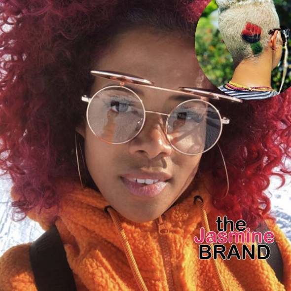 Kelis Shows Off New Haircut In Honor Of Black Empowerment