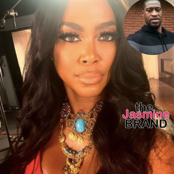 Kenya Moore Breaks Silence On George Floyd's Death: I'm Hurt, Angry, Sad & Scared