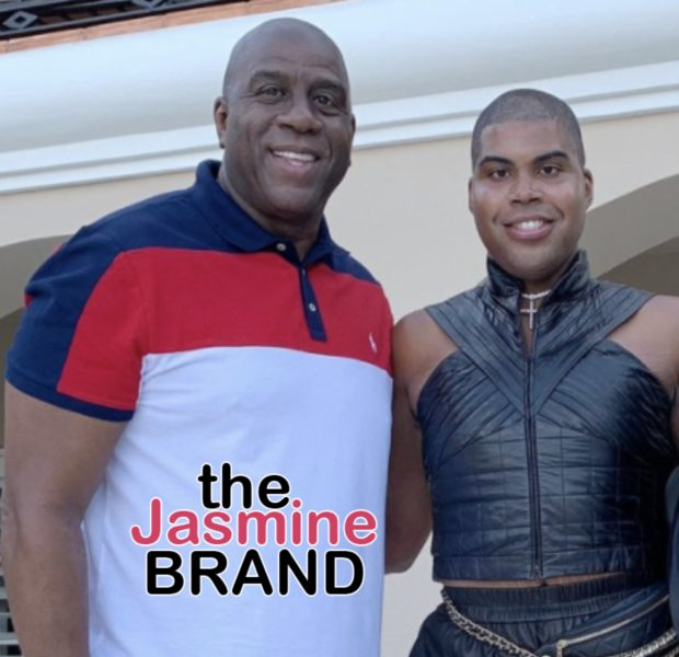 Magic Johnson Celebrates Son E.J. Johnson's 28th Birthday: Continue To Let Your Light Shine!