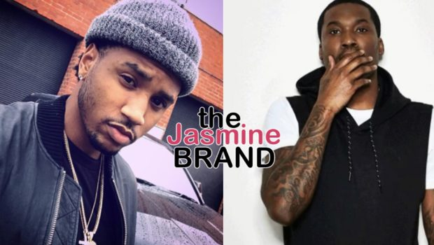 Trey Songz & Meek Mill Have An Awkward Exchange Over Charity, Trey Songz Later Apologizes