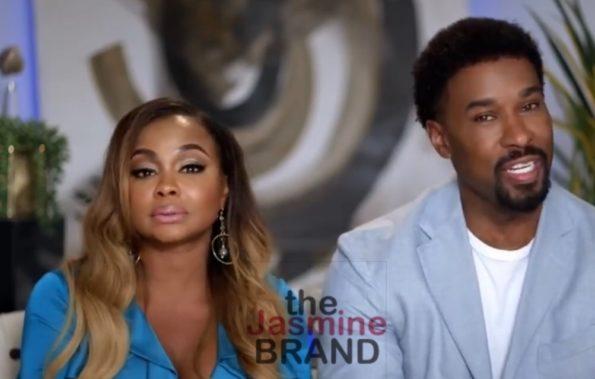 Phaedra Parks Needs Boyfriend Medina To Man Up He Says Their Biggest Problem Is Intimacy No Sex Blue Balls Thejasminebrand