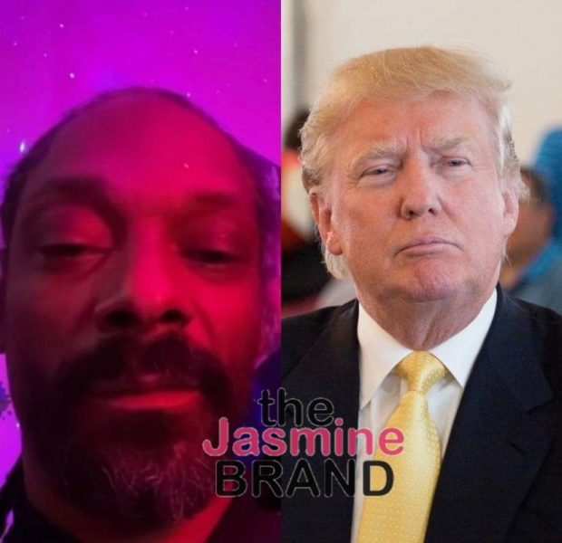 Snoop Dogg Calls Trump A F**king Weirdo: If You F**k With Him, F**k You Funky Dog Head B*tch!