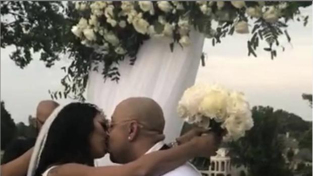 Reality Star Deelishis & Exonerated Five's Raymond Santana Are Married!