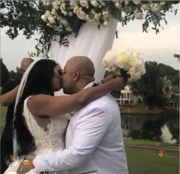 Reality Star Deelishis & Exonerated Five's Raymond Santana Are Married!