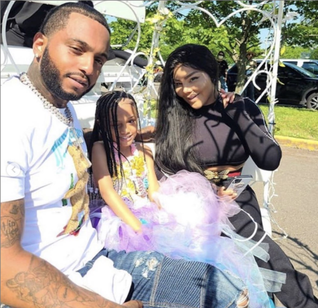 Lil Kim & Mr. Papers Celebrate Daughter Royal Reign's 6th Birthday Together
