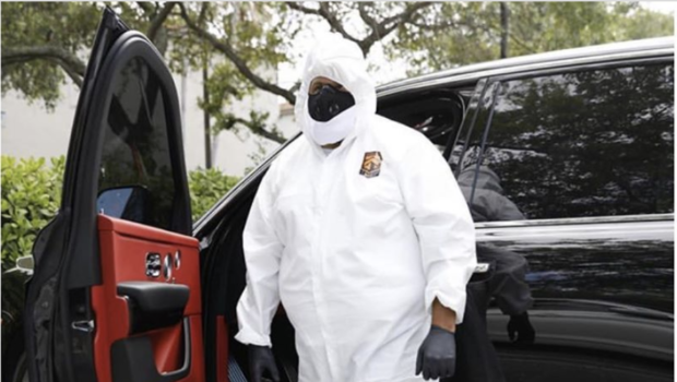 DJ Khaled Leaves House For First Time In Three Months, Gets A Root Canal Wearing A Hazmat Suit [VIDEO]