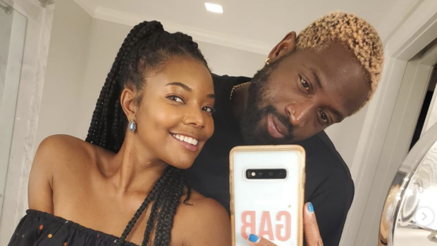 Dwyane Wade Shows Off His New Hair Color In Latest Bathroom Selfie With Gabrielle Union