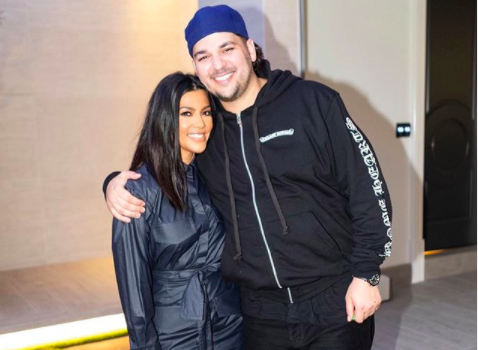 Rob Kardashian Reveals Dramatic Weight Loss In Rare Photos