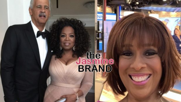 Oprah Winfrey Reveals To Gayle King That Stedman Graham Has Been Racially Profiled