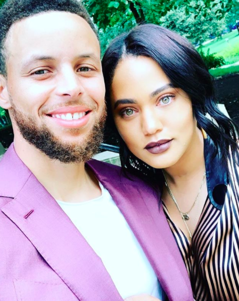 Steph & Ayesha Curry Join Oakland Protest & Urge 'Everyone To Show Up'