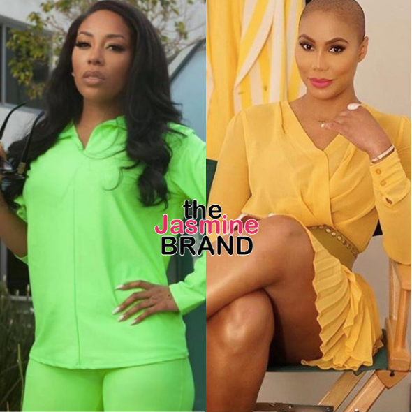 K. Michelle Says 'You Were Sleeping W/ Jermaine Dupri's Daddy' As Tamar Braxton Feud Reignites